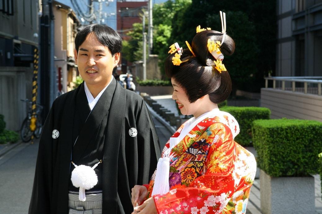 Японские молодожены