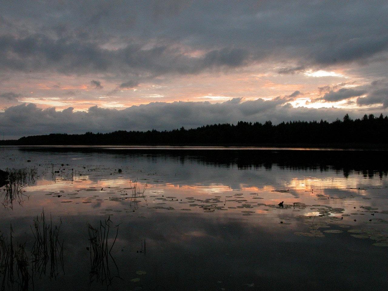 Белые ночи на реке Водла