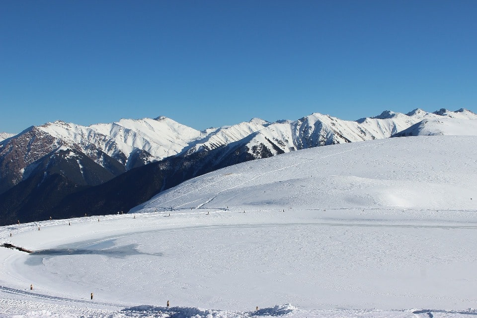Зима в Цее