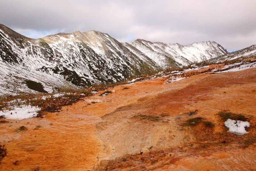 Марсианские пейзажи Камчатки