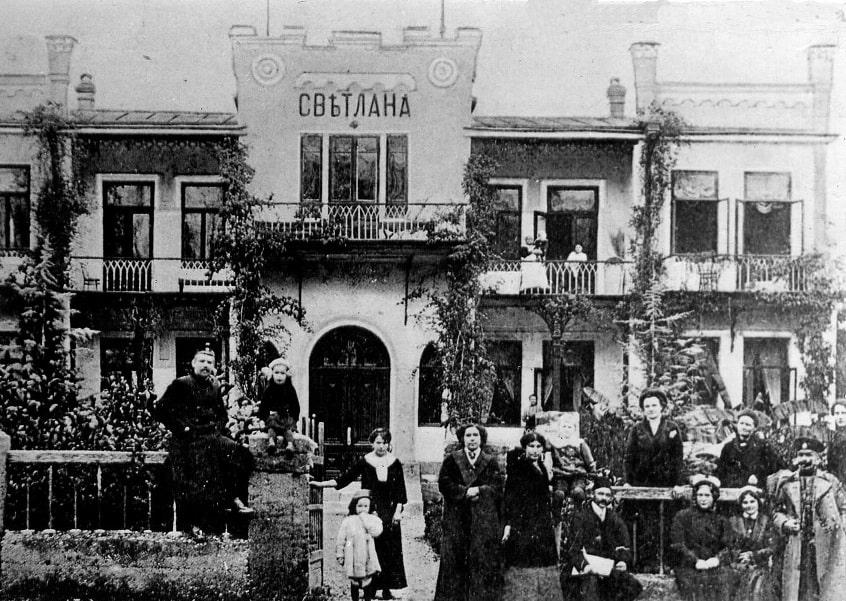 Так выглядел город в начале прошлого века