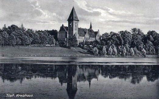 Тильзит в начале XX века