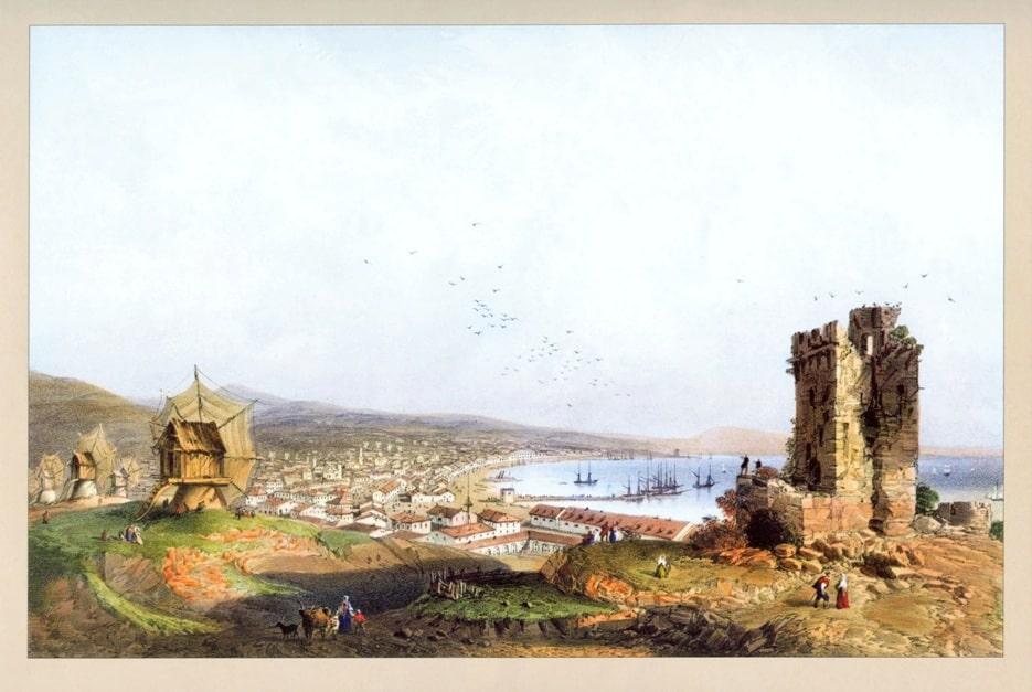 Карло Боссоли. «Феодосия», 1856 г.