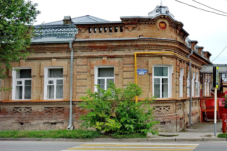 Этот дом был построен в 1907 году
