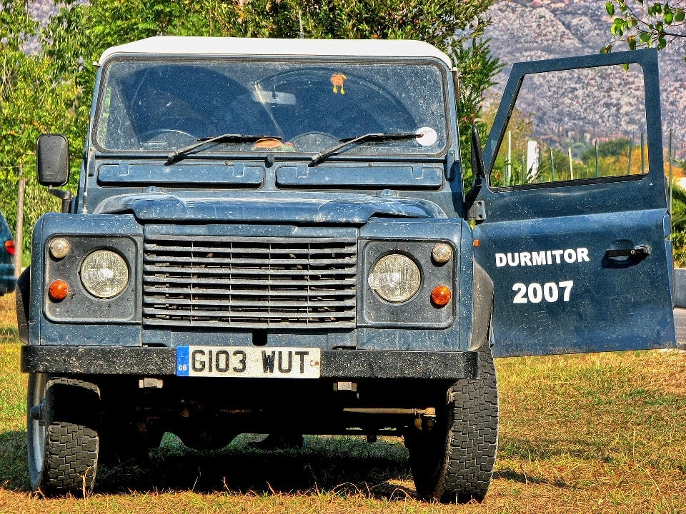 Дурмитор - отличное место для джипинга