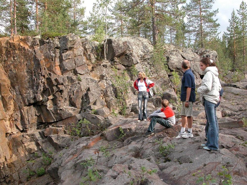 Карельские скалы очень фотогеничны