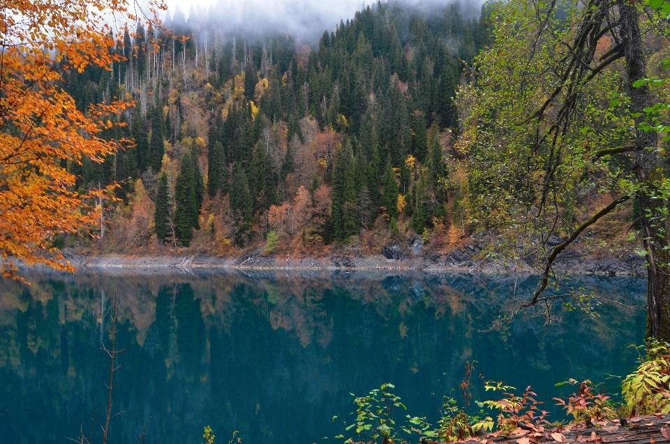 Осень в ущелье