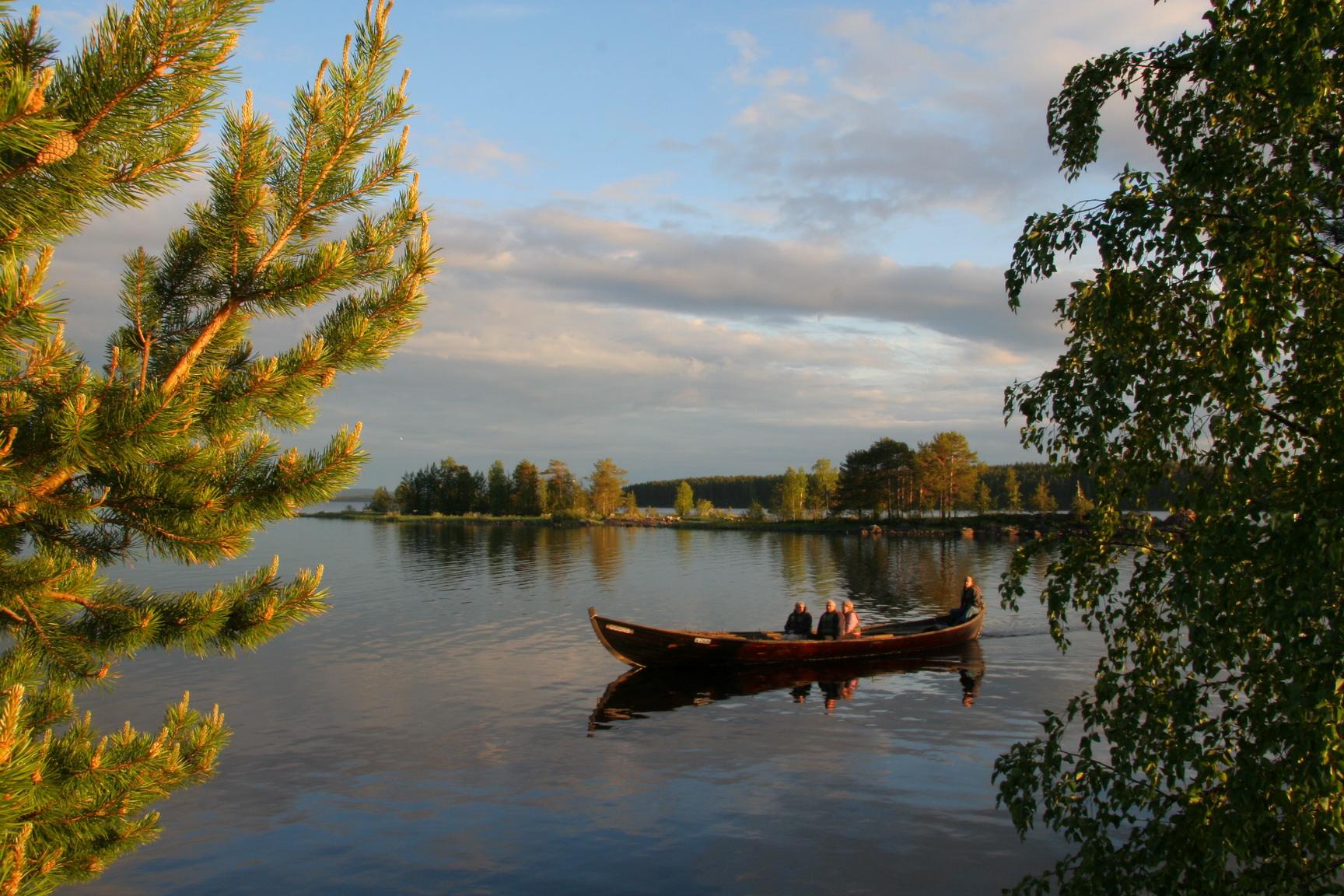 Вуокса - это озерно-речная система
