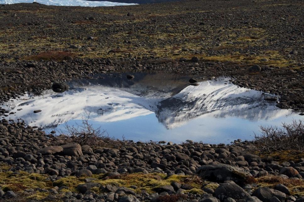 Талая ледниковая вода отличается идеальной чистотой