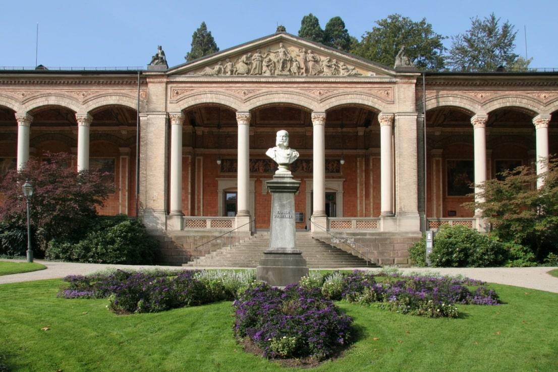 Центральный бювет в Баден-Баден