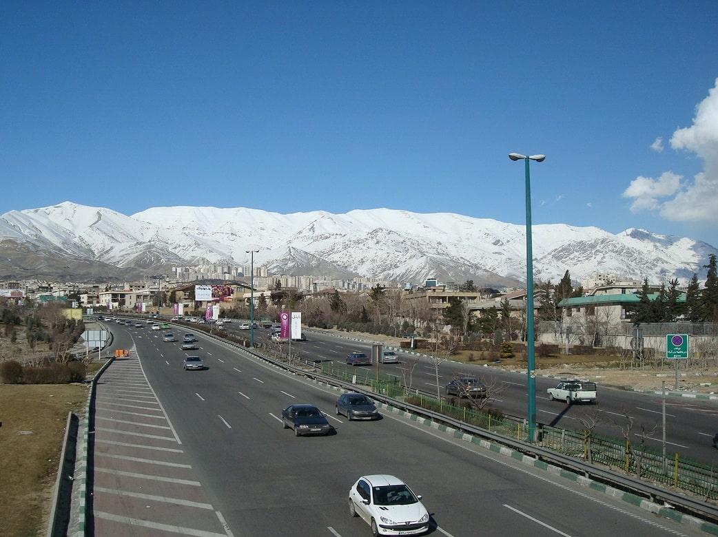 Иранский Эльбрус. Вид из Тегерана