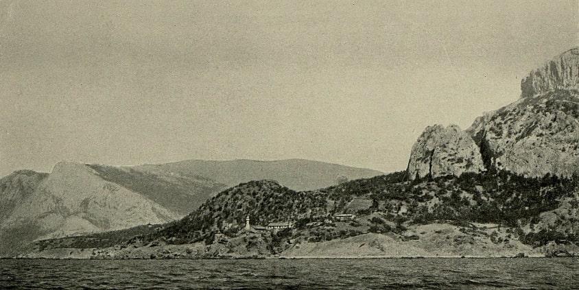 Мыс и маяк Сарыч, 1903 г.