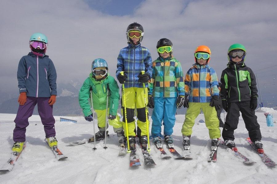 На курорте действует детская горнолыжная школа