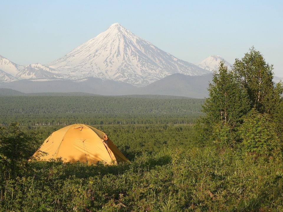 Отдых с видом на вулкан