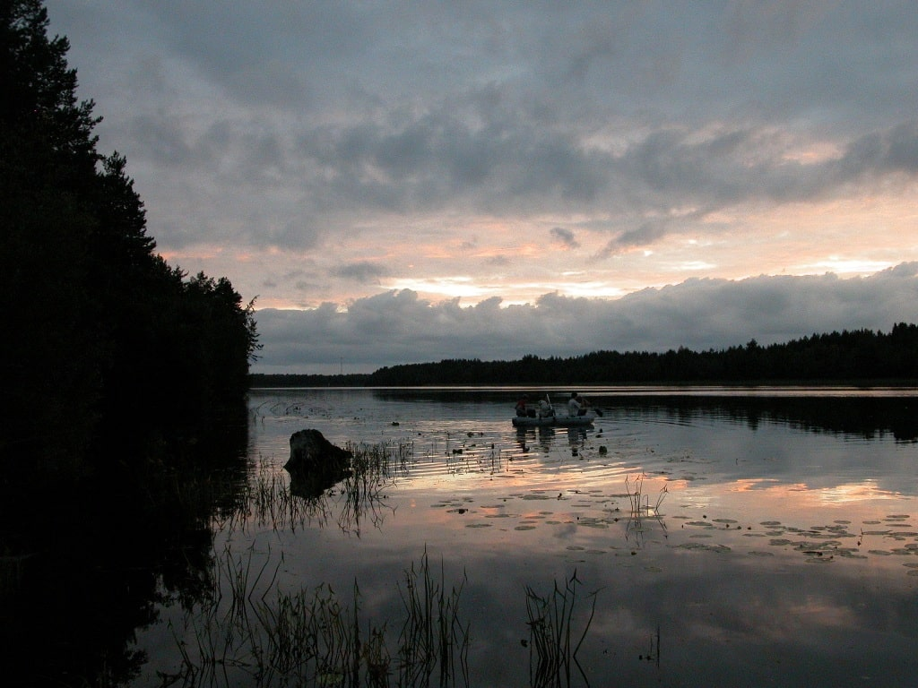 На берегах реки в старину селились старообрядцы, которых называли кержаками