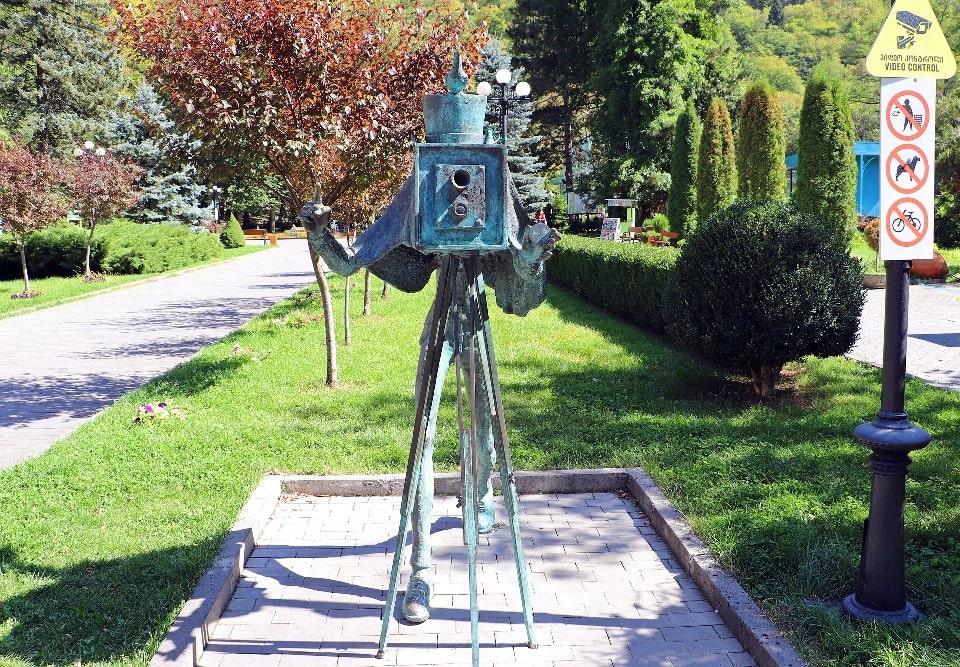 Парк в городе-курорте Боржоми