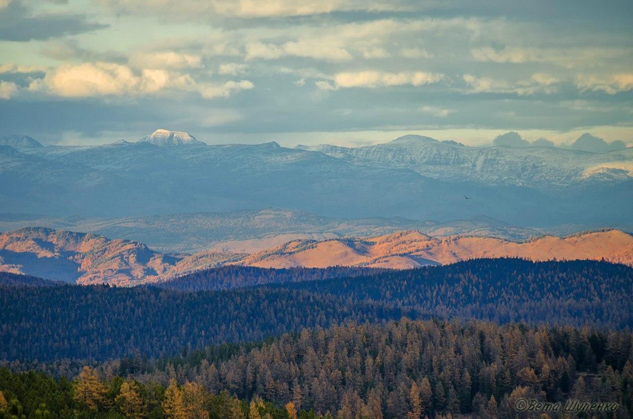 Вид с Улаганского перевала