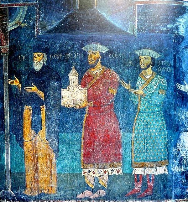 Портреты князей Джакели, XIV век