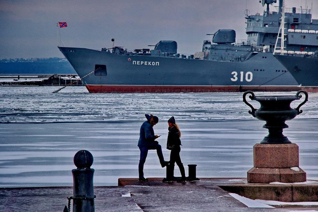 В Балтийске находится база ВМФ России