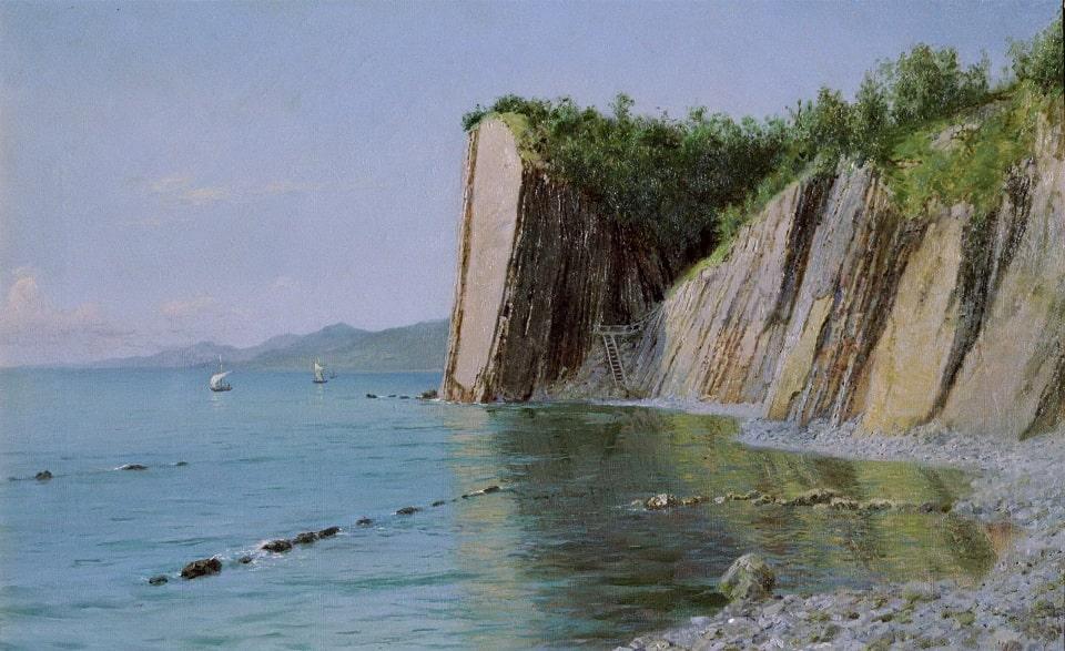 Картина А.Киселева «Кадошские скалы»