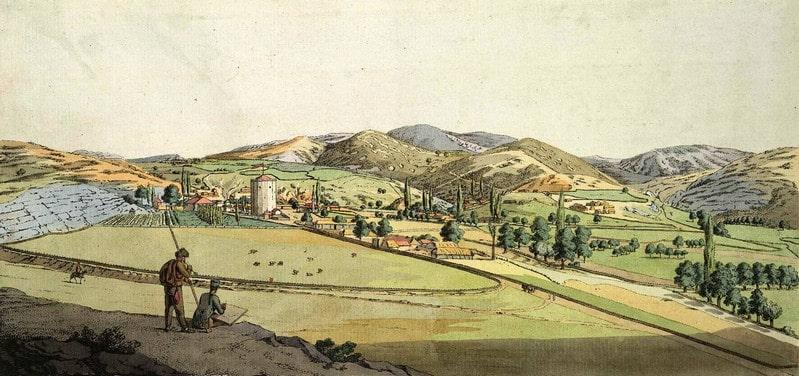 Село Чоргунь, 1805 год