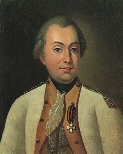 Портрет М. И. Кутузова в мундире полковника Луганского пикинерного полка