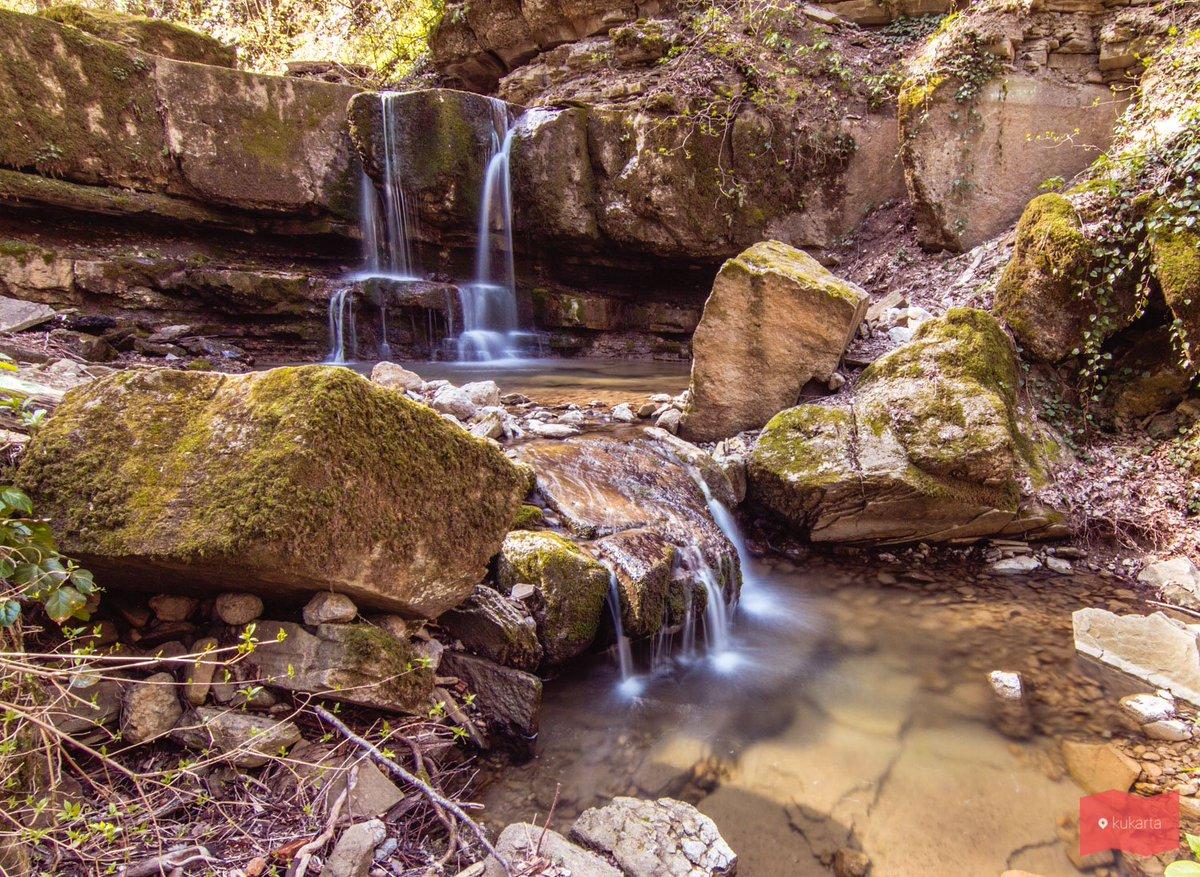 Каскад малых водопадов