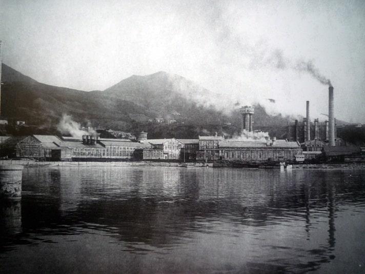 Бумажная фабрика Мауки. 1930-е гг.