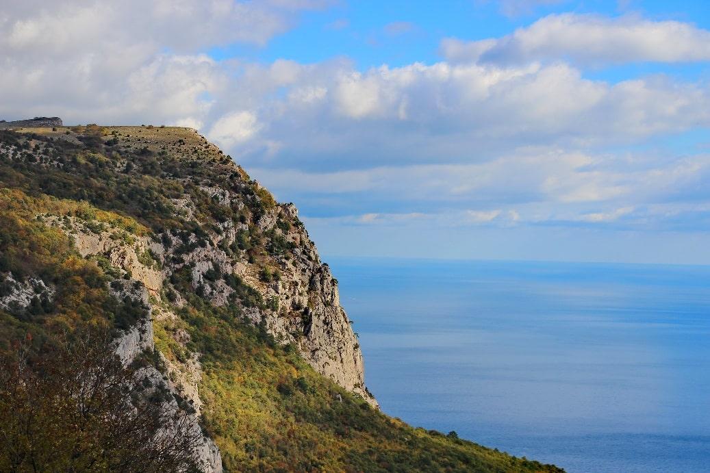 Вид с горы Кошка