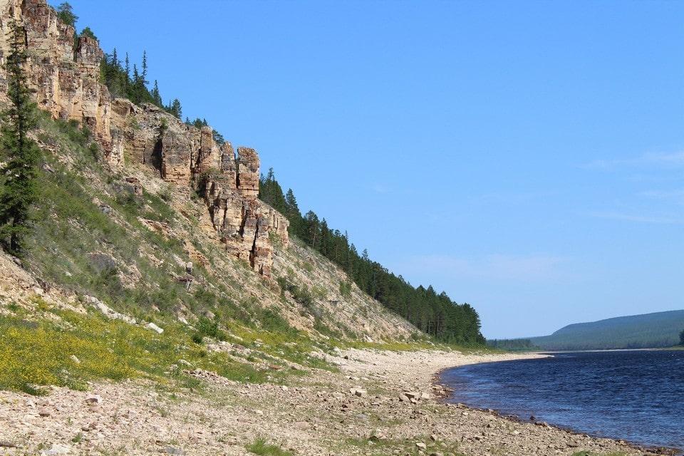 Эти породы начали формироваться 550 миллионов лет назад