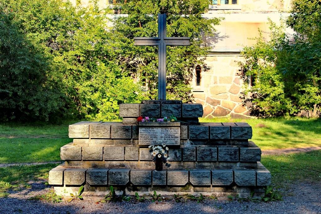 Памятник финским солдатам, погибшим во время войны