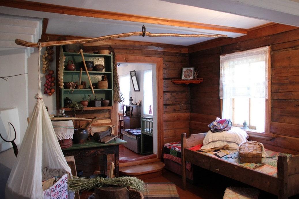 Так в старину выглядело типичное жилище