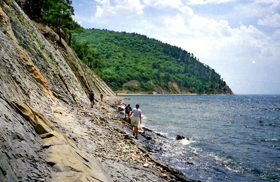 Около миллиона лет назад здесь было морское дно