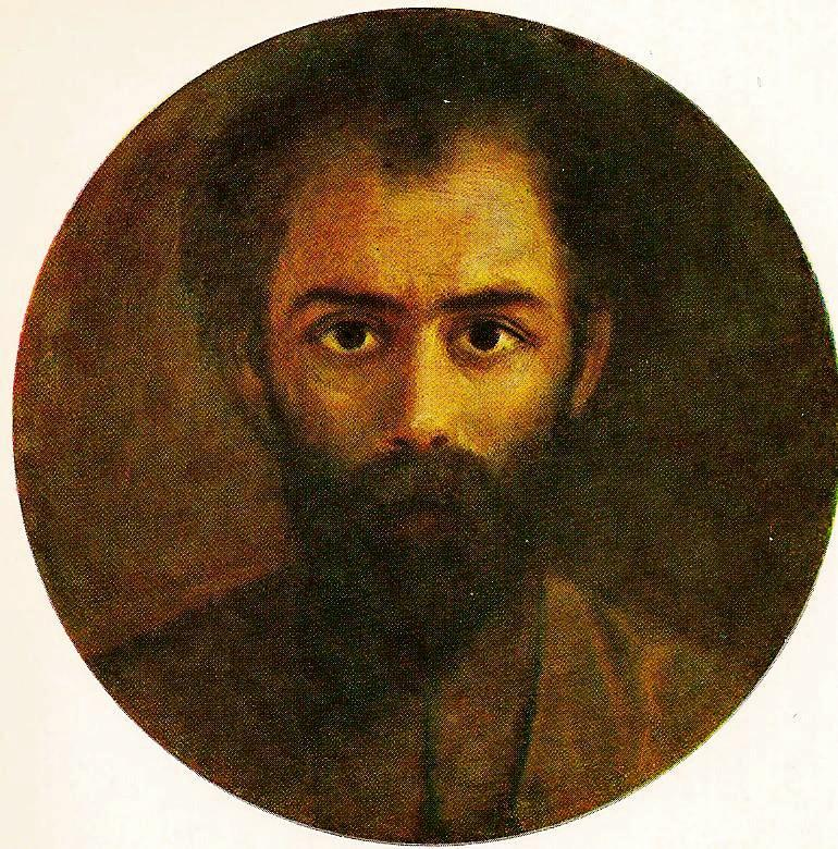 Осетинский поэт Коста Хетагуров. Автопортрет