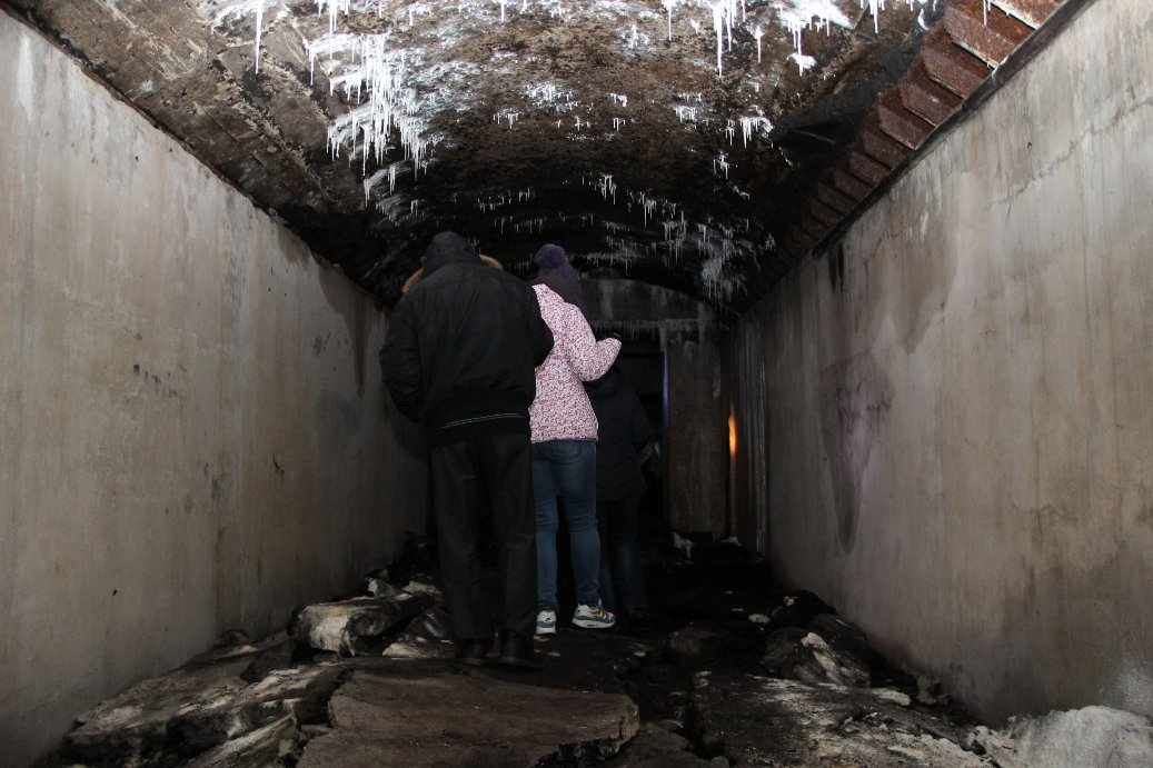 В подземельях царят холод и сырость