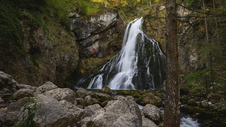 Джур-Джур является самым полноводным водопадом Крыма