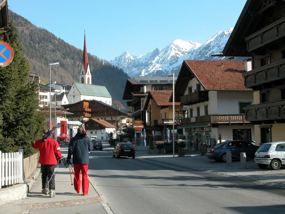 Типичный альпийский городок