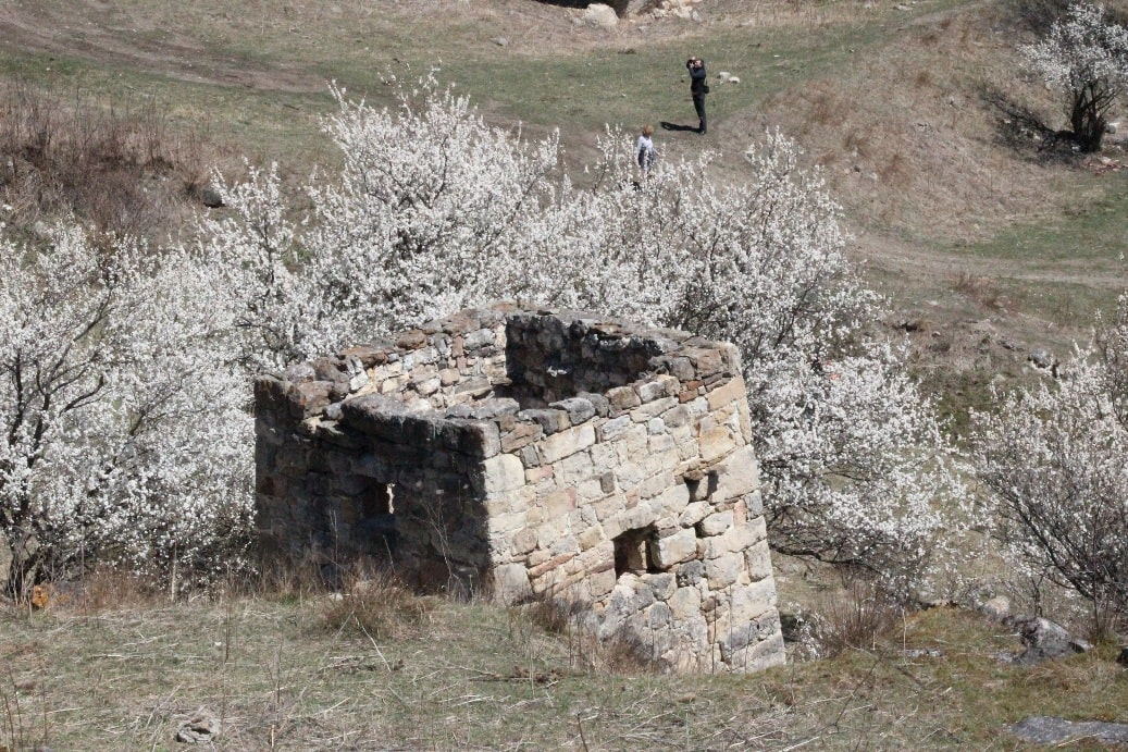 Основание древней сторожевой башни