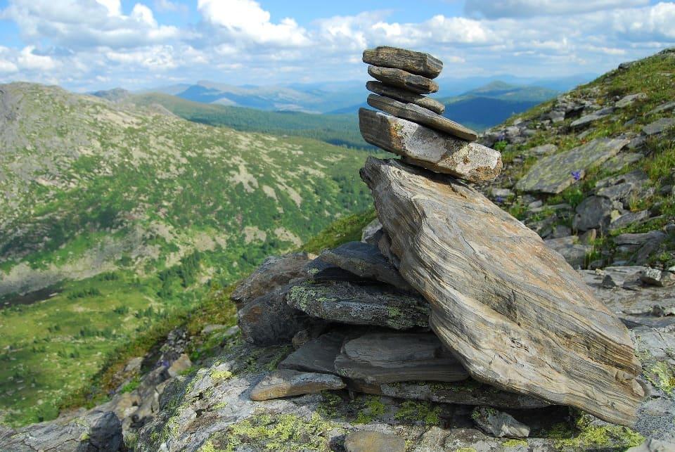 Ергаки славятся причудливыми скалами