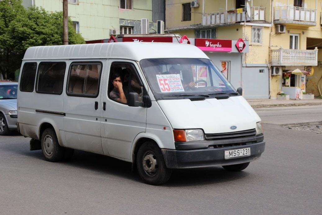 Из Тбилиси и аэропорта до Гудаури можно добраться на маршрутке