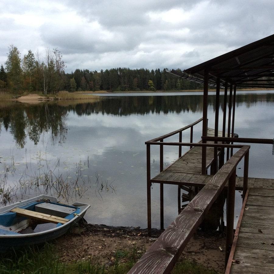 В этих местах берет начало Волга