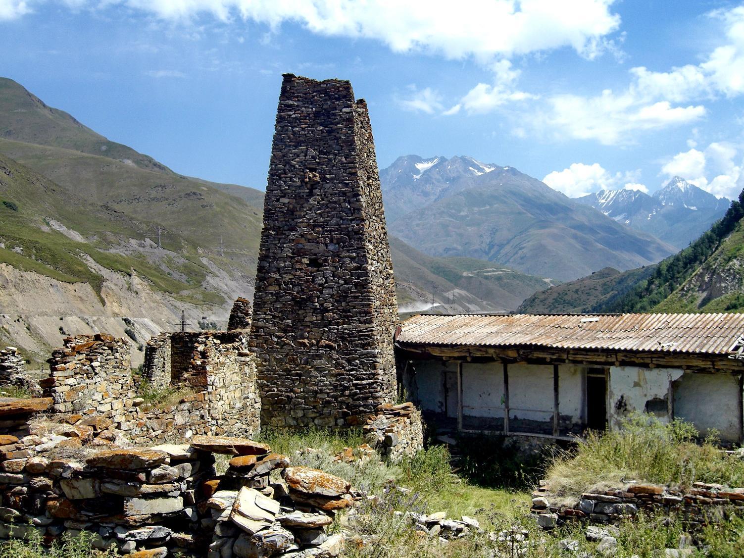 Осетинская сторожевая башня