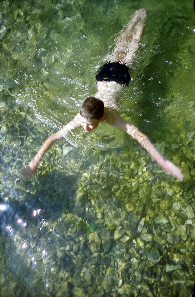 Вода в Пшаде очень чистая и прозрачная