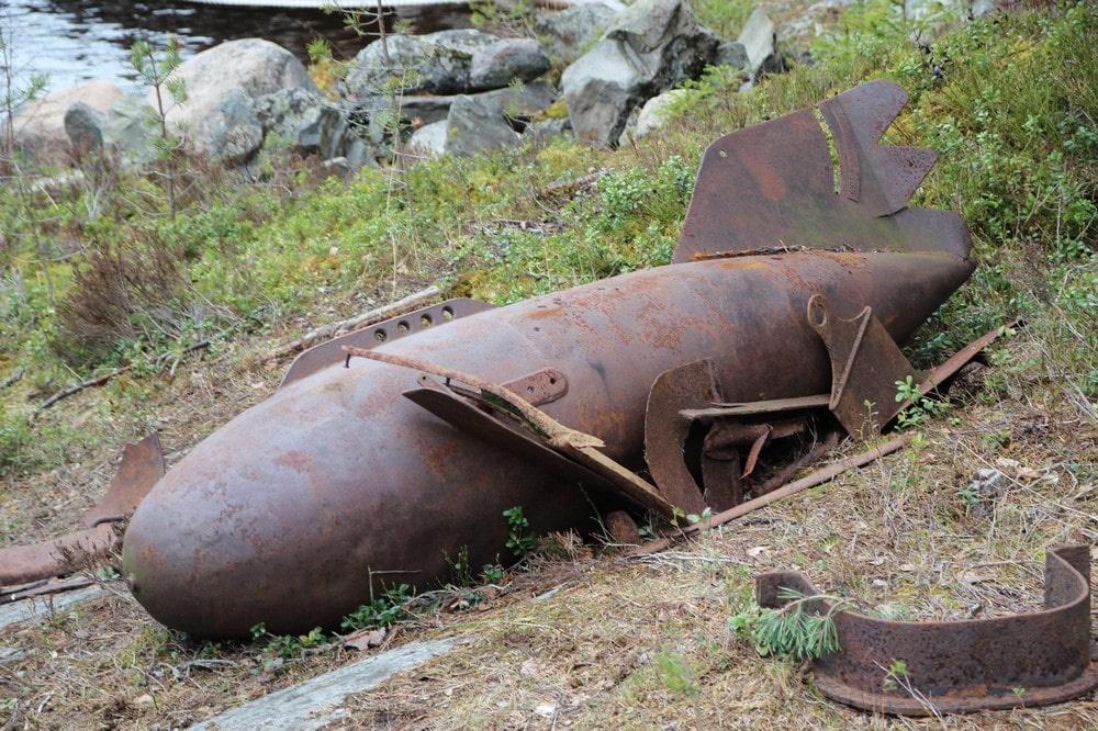 «Эхо войны» на острове Пеллотсаари