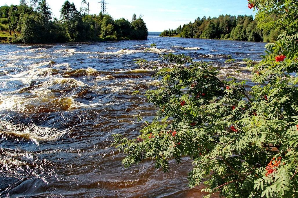 Карельские реки отличаются норовистым характером