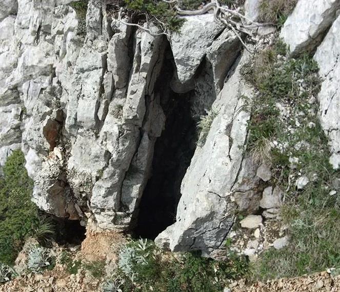 Вход в пещеру Эклизи-Коба