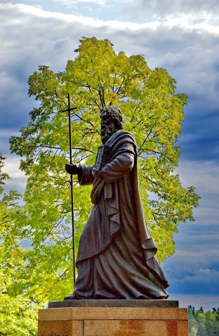 Памятник Св.Андрею Первозванному