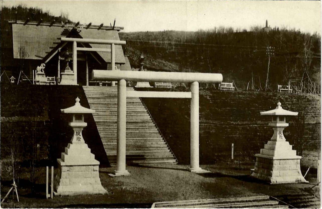 Так выглядел храм Маока дзиндзя