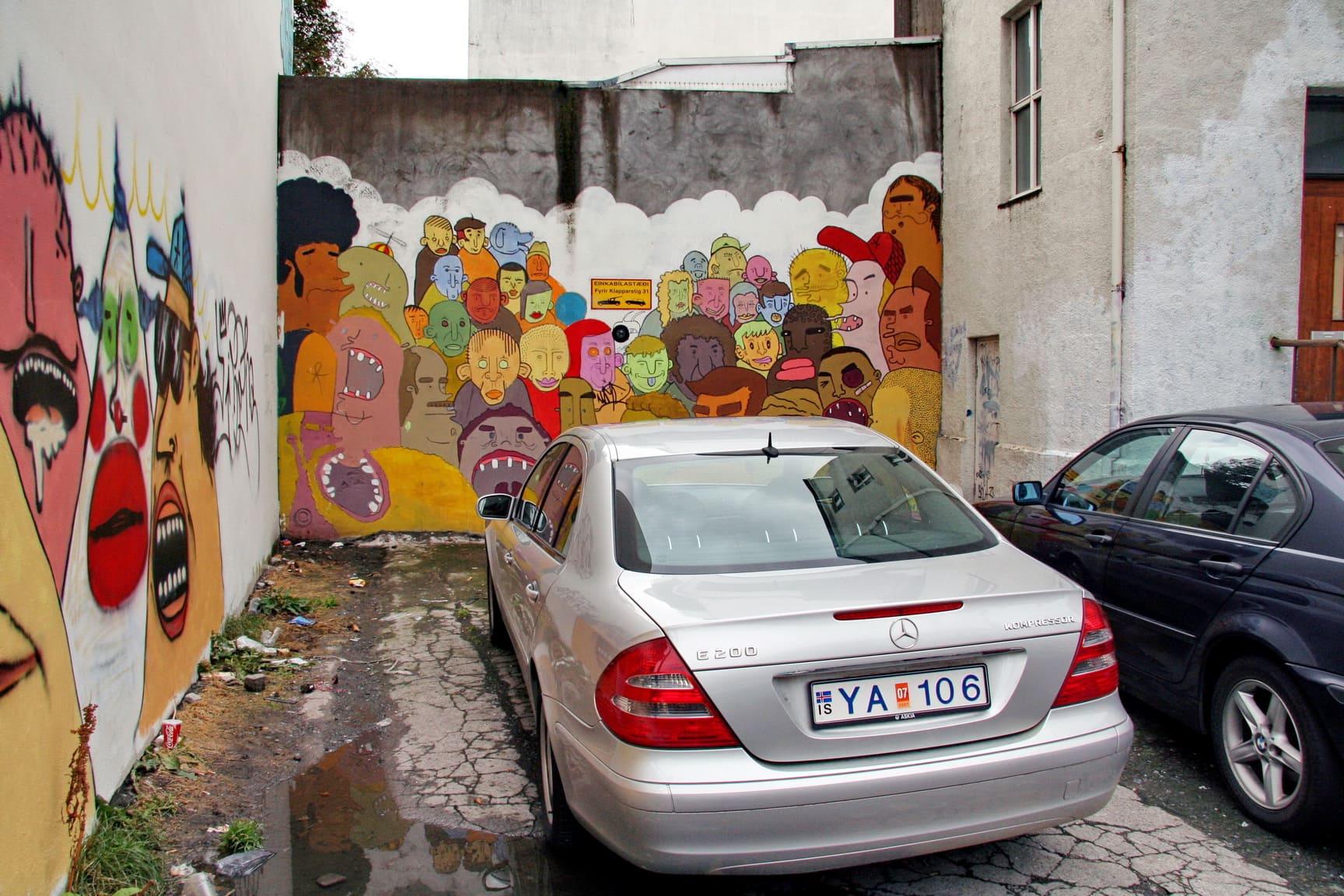Граффити – визитная карточка Рейкьявика