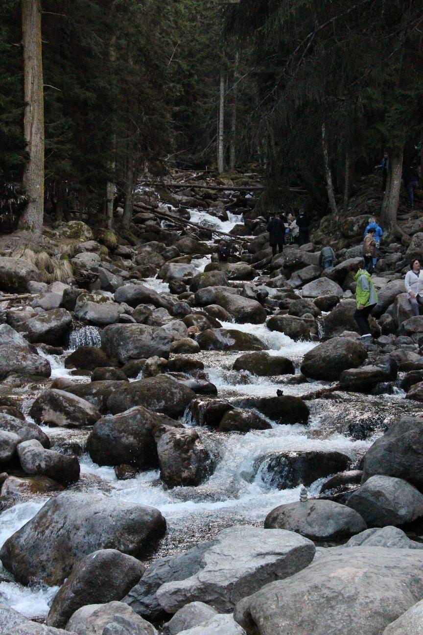 Горные реки питают ледники